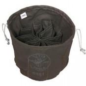 Bolso con cordón deslizante de diez compartimientos